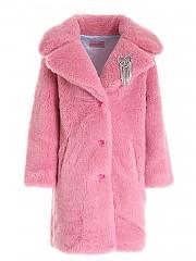 [관부가세포함][키아라 페라그니] FW20 여성 long teddy 코트 (CFG013 ROSE SHADOW)
