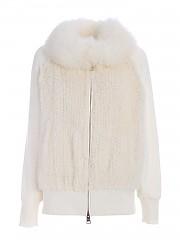 [관부가세포함][에르노] FW20 여성 fur details 점퍼 (PL002DR 50011 1100)