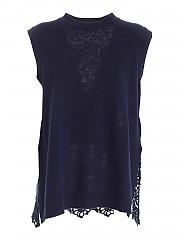 [관부가세포함][에르마노 바이 에르마노 설비노] FW20 여성 민소매 스웨터 (47 T MG21 00432)