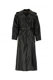 [관부가세포함][돌체앤가바나] FW20 여성 가죽 코트 G(F0A15LHULJ7 N000)