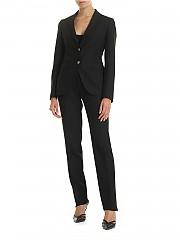 [관부가세포함][딸리아또레] Single-breasted suit in black (TFDL22BS 97165 N579)