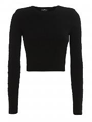 [관부가세포함][엘리자베타 프렌치] FW20 여성 embossed fabric top and 스커트 (KC-14Q-06E2 110)