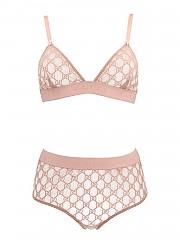 [관부가세포함][구찌] FW20 여성 gg tulle lingerie set (631747 XJBVY 5101)