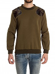 [관부가세포함][Ribbon Clothing]남성 맨투맨 스웨트셔츠 (F001)