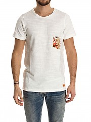 [관부가세포함][Ribbon Clothing]남성 반팔 티셔츠 (T032)