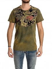 [관부가세포함][Ribbon Clothing]남성 반팔 티셔츠 (T034)