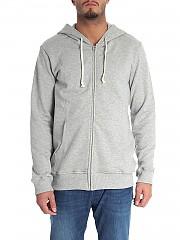 [관부가세포함][꼼데가르송 셔츠 보이즈] Grey melange hoodie (W26913 1)
