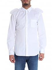 """[관부가세포함][꼼데가르송 셔츠 보이즈] """"Mouse Ears"""" white shirt (W26929 3)"""