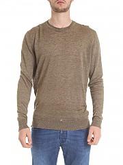 [관부가세포함][케이웨이] Military green linen sweater (WOMAG1849 UF0310 614)