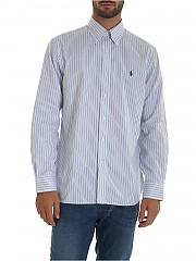 [관부가세포함][랄프로렌] White 남성 셔츠 (712766315005-SKY/WHITE)