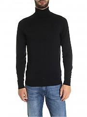 [관부가세포함][존스메들리] FW19 Cherwell 남성 터틀넥 니트 in black (CHERWELL BLACK)