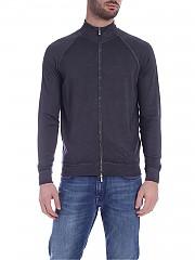 [관부가세포함][드루모어] SS20 남성 집업 가디건 Merino wool cardigan in faded dark gray (D0D202A 688)
