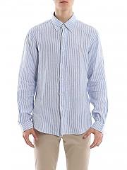 [관부가세포함][폴로 랄프로렌] SS20 남성 린넨 셔츠 (710787525005)