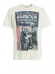 [관부가세포함][바버] SS20 남성 티셔츠 (BATEE0392 WH32)