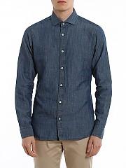 [관부가세포함][지제냐] SS20 남성 데님셔츠 (VU215 ZCSF2 B05)