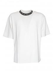 [관부가세포함][아크네스튜디오] FW20 남성 반팔 티셔츠 (BL0221 OPTIC WHITE)