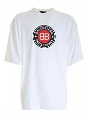 [관부가세포함][발렌시아가] FW20 남성 반팔 티셔츠 (641614 TJV76 9000)