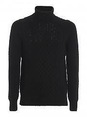 [관부가세포함][드루모어] FW20 남성 터틀넥 스웨터 (D4W124AR 690)