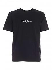 [관부가세포함][프레드페리] FW20 남성 반팔 티셔츠 (M8621 102)