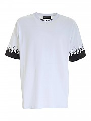 [관부가세포함][비젼 오브 슈퍼] FW20 남성 반팔 티셔츠 (W1FLBLACK WHITE)
