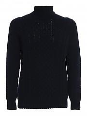 [관부가세포함][드루모어] FW20 남성 터틀넥 스웨터 (D4W124AR 790)