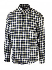[관부가세포함][바버] FW20 남성 체크 셔츠 (MSH4813 NY91)