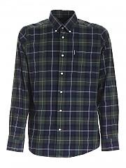 [관부가세포함][바버] FW20 남성 체크 셔츠 (MSH4283 TN55)