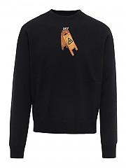 [관부가세포함][오프화이트] FW20 남성 맨투맨 스웨트셔츠 (OMBA025F20FLE0031010)