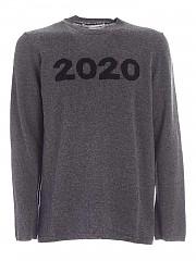 [관부가세포함][꼼데가르송 셔츠] FW20 남성 니트 풀오버 (W28504-2)