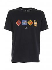[관부가세포함][PS 바이 폴스미스] FW20 남성 티셔츠 (M2R-011R-EP2386 79)