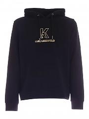 [관부가세포함][칼라거펠트] FW20 남성 laminated logo print 맨투맨 스웨트셔츠 (705012 502910 990)