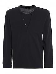 [관부가세포함][닐바렛] FW20 남성 긴팔 티셔츠 (BJT845P 507P0 101)