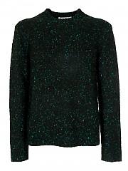 [관부가세포함][아크네스튜디오] FW20 남성 니트 스웨터 (B60141 BLACK GREEN)