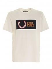 [관부가세포함][프레드페리] FW20 남성 반팔 티셔츠 (M9583 129)