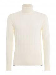 [관부가세포함][일레븐티] FW20 남성 울 터틀넥 스웨터 (B71MAGB21 MAG0B043 0015)
