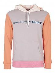 [관부가세포함][꼼데가르송 셔츠] FW20 남성 후드 티셔츠 (W28118 PINK)