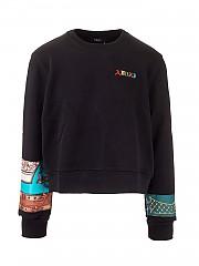 [관부가세포함][AMIRI] FW20 남성 맨투맨 티셔츠 (W0M02535TEBLACK)