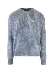 [관부가세포함][AMIRI] FW20 남성 logo cashmere 풀오버 (W0M05568CNPETROL BLUE)