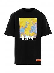 [관부가세포함][헤론 프레스톤] SS21 남성 티셔츠 (HMAA020R21JER0041016)