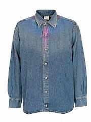 [관부가세포함][마르셀로 불론] SS21 남성 데님 셔츠 (CMYD011R21DEN0014045)