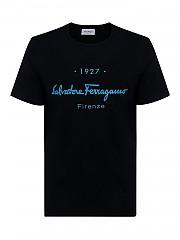 [관부가세포함][살바토레 페라가모] SS21 남성 티셔츠 (743055)