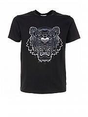 [관부가세포함][겐조] SS21 남성 반팔 티셔츠 (FB55TS0264YG99)