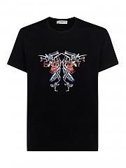 [관부가세포함][지방시] SS21 남성 반팔 티셔츠 (BM710M3002001)