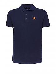 [관부가세포함][겐조] SS21 남성 반팔 폴로 셔츠 (FA65PO0014PU76B)