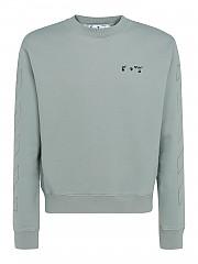 [관부가세포함][오프화이트] SS21 남성 맨투맨 티셔츠 (OMBA025R21FLE0025010)