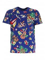 [관부가세포함][폴로 랄프로렌] SS21 남성 반팔 티셔츠 (710829182001)