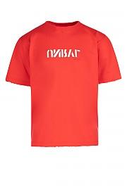 [관부가세포함][언라벨] SS19 남성 티셔츠 G(UMAA004S191260022001 RED WTE)