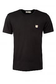 [관부가세포함][메종키츠네] 남성 반팔 티셔츠 G(AM00103KJ0008 BK)