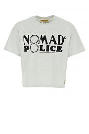 [관부가세포함][노마드] SS20 남성 반팔 티셔츠 G(BASICTEE01POLICE GREY)