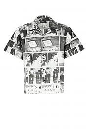 [관부가세포함][ENFANTS RICHES DEPRIMES] SS20 남성 셔츠 G(SS20140009 BLACKWHITE)